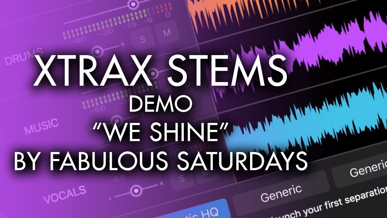 Review: Audionamix's Xtrax Stems Separates Tracks into Stems - DJ