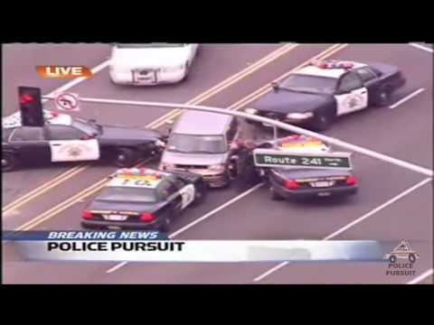 Police Pursuit - Orange County, CA
