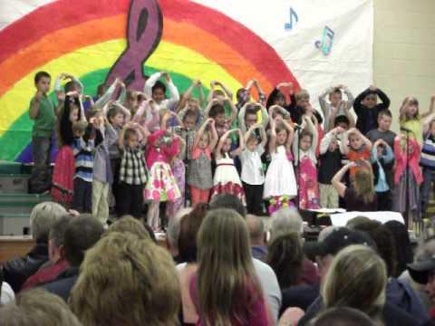 Wittenberg Elementary School Spring Concert 2015 Kindergarten