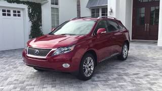 2012 Lexus RX450h Luxury AWD SUV Review and Test Drive by Bill - Auto Europa Naples