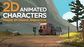 2D Animated Characters - Frame by Frame Animation