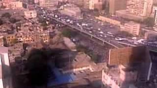 مظاهرات الاقباط 2 ، ماسبيرو وسط القاهرة