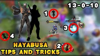 Hayabusa Tips And Tricks | Mobile Legends Bang Bang