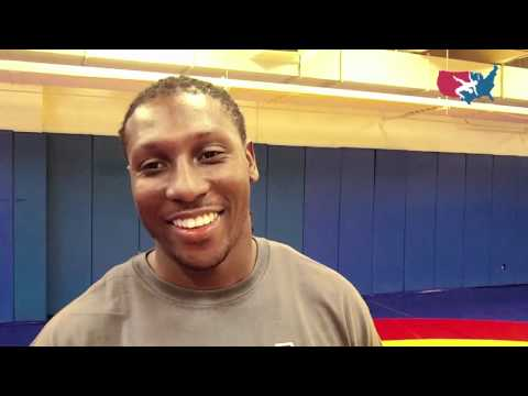 Roddy White Partners With USA Wrestling, Visits Olympic Training Center