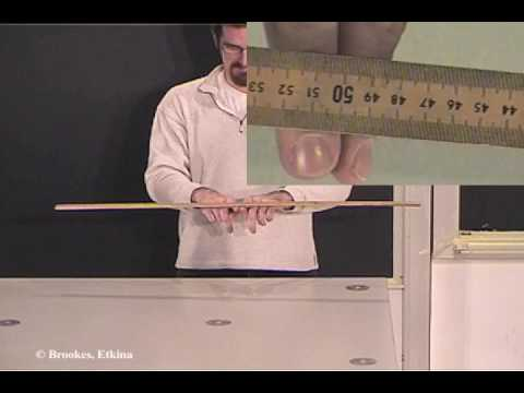 Finding the mass of the ruler