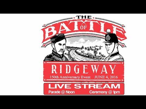 150th Anniversary of the Battle of Ridgeway Parade