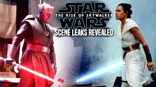 The Rise Of Skywalker Scene Leaks Change Everything! (Star Wars Episode 9)