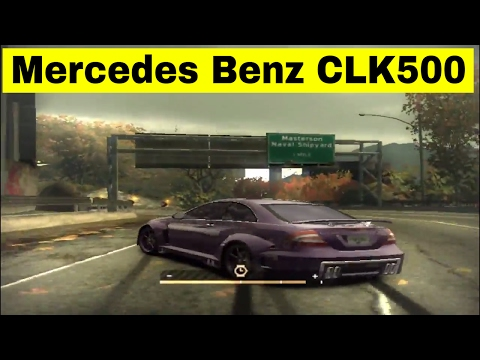 Mercedes-benz CLK 500 | Need For Speed : Most Wanted (2005)