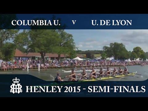 Columbia U. v U. de Lyon | Semi-Finals Day Henley 2015 | Temple