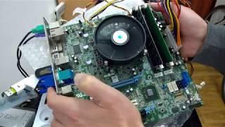 4K - Обзор, тест бизнес материнской платы Dell Optiplex 7010 на сокете 1155 за - 50$