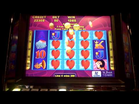 Heart of vegas slot machine