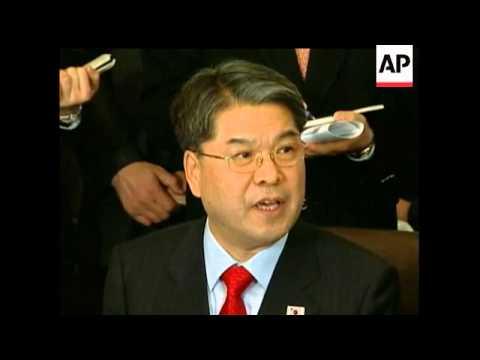 A South Korean delegation arrived Tuesday in North Korea for the first high-level talks between the