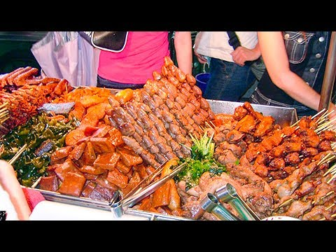 Asian Street Food - Fast Food Street in Asia, Cambodian food #82, Roasted Meats