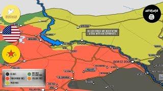 11 октября 2017. Военная обстановка в Сирии. Сообщения о переговорах между западной коалицией и ИГИЛ