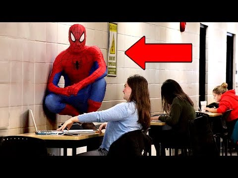 Spider-Man Goes To College PRANK!!
