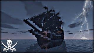 【マインクラフト】海賊船を建築してみる【海賊船の作り方】