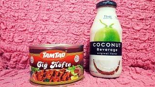 Bim'in Hindistan Cevizi Sütü ve Konserve Çiğ Köfte İncelemesi ( Vegan )