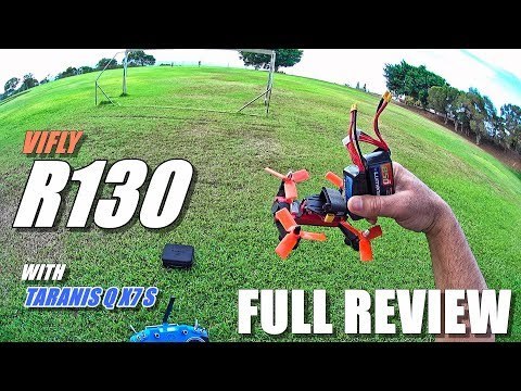 VIFLY R130 FPV Race Drone - Full Review - [Unboxing, Inspection, Flight/Crash Test, Pros & Cons]
