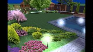 видео Проектирование ландшафтного освещения
