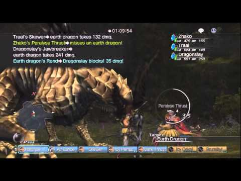 White Knight Chronicles [HD] - GR9 Quest: King of Dragons II Online A Rank Part 2