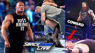 The Rock Wins🔥 Roman Reigns Help By Undertaker - WWE Smackdown Highlights 25 June 2019