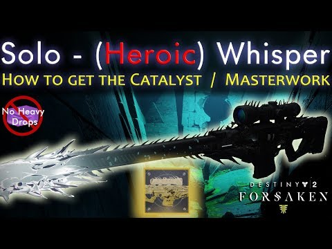 How to get Whisper of the Worm Catalyst - Solo - Heroic - Warlock