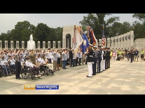 Remembering the sacrifices World War II veterans made for our freedom - ENN 2019-06-07
