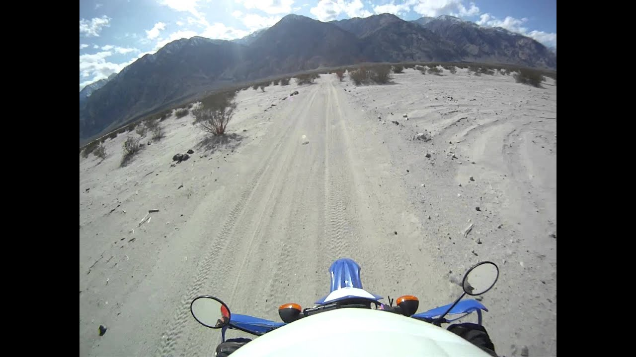 a1000 wr250r death valley Warm Springs to Saline Valley Rd