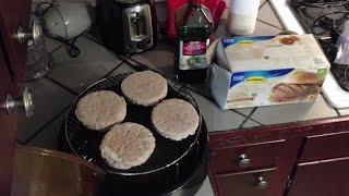 Butterball Original Seasoned Turkey Burgers Frozen Nuwave Oven Heating Instructions