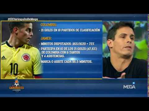 """Edu Aguirre: """"James Rodríguez se MERECE la CLASIFICACIÓN al Mundial"""""""
