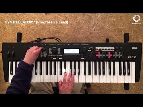 KORG KROSS #1 | Play Presets Sound