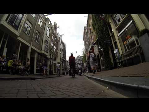 Amsterdam via Electric Skateboard (Part 1 - City & Zuid-Kennemerland Park)
