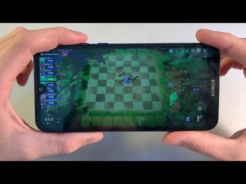 Игры Honor 8S (GTA:SanAndreas, PUBG:Mobile, AutoChess)