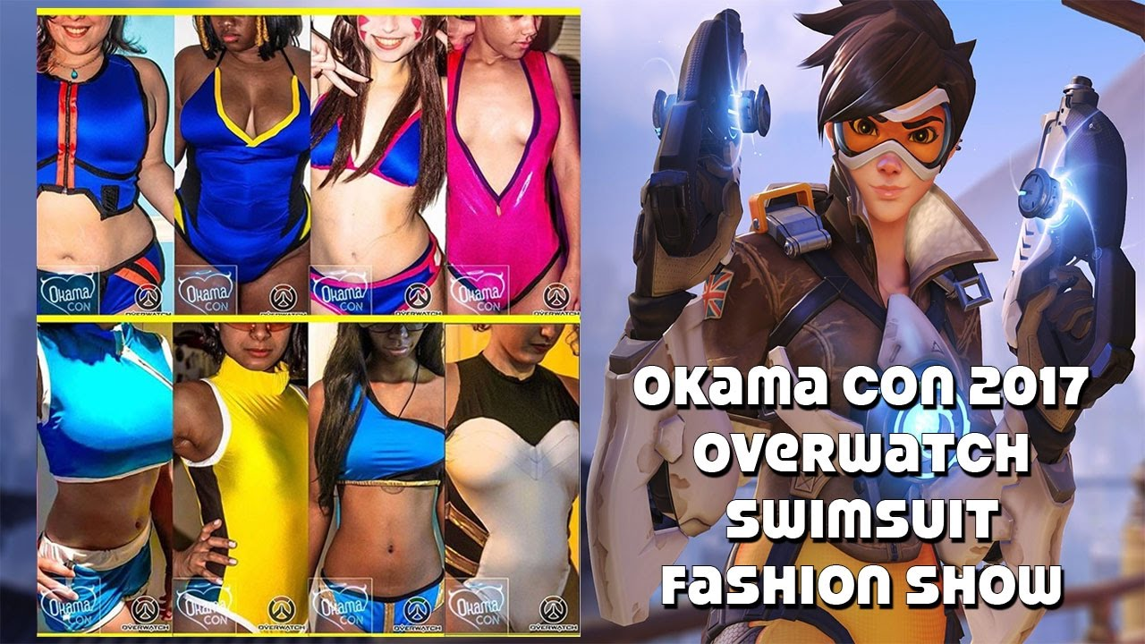 39ee27d340 OkamaCon 2017 Overwatch Swimsuit Fashion Show By Unlikely Hero - YouTube