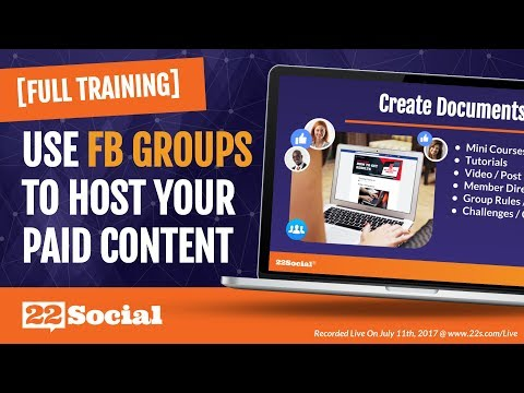 3 Ways to Deliver Content to Your Customers Using a Facebook Group