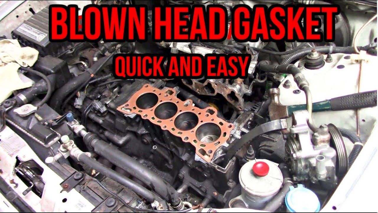 97 civic head gasket replacement