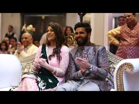 Best Indian Sangeet Wedding Bollywood Style Skit Performance 2018