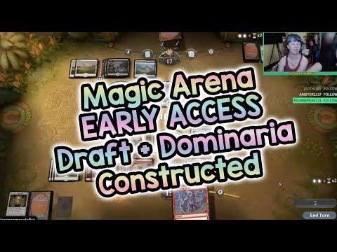 Magic Arena Early Access DRAFT + Dominaria Constructed! | Magic the Gathering Stream