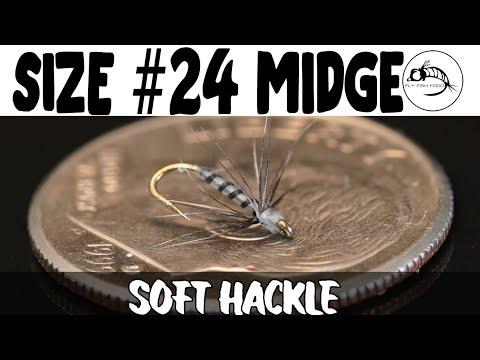 Size #24 Midge Soft Hackle