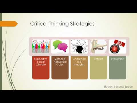 Strategies to Develop Critical Thinking Skills
