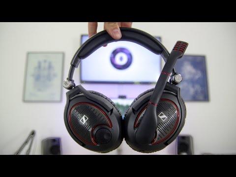 Sennheiser G4ME ZERO Review! - Best Gaming Headset?? (w/ mic test)