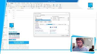 How to install a HṪML email signature in Microsoft Outlook 365