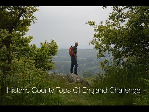 Historic County Tops Of England Challenge