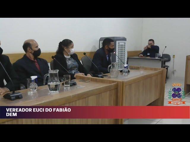 Câmara Municipal de Vereadores de Itacarambi MG Reunião realizada no dia 25/08/2021