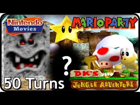 mario-party-1---dk's-jungle-adventure-(2-players,-50-turns!)