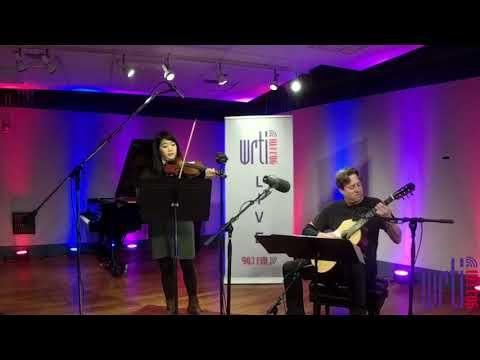 Live from the WRTI 90.1 Performance Studio: Jason Vieaux & Kristin Lee play Fung's Twisted Jam