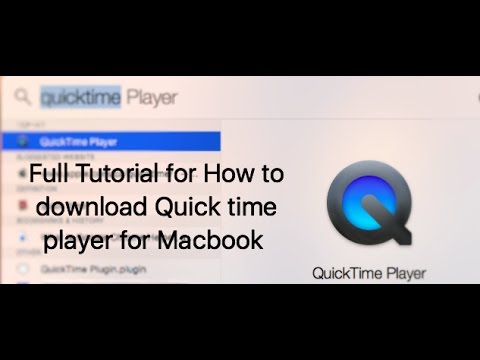 Download Quicktime Player For Macbook Air