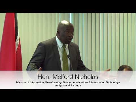 Caribbean Fintech 2017 - Presentation by  Hon. Melford Nicholas - Digital economy