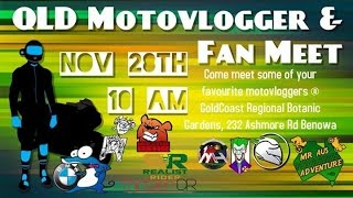 Come join us! Motovlogger meet this Saturday!