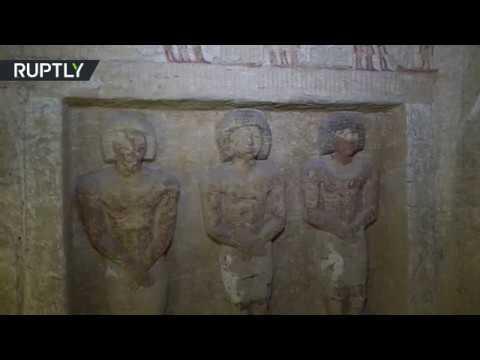 مصر.. العثور على مقبرة سليمة عمرها أكثر من 4 آلاف سنة  - نشر قبل 2 ساعة